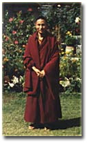 Early photo of Ven. Choje Lama Shedrup